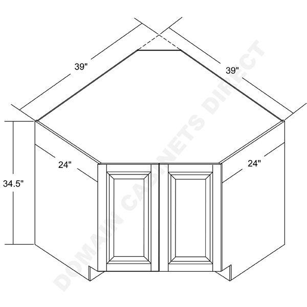 Corner Kitchen Sink Cabinet Dimensions Corner Sink Kitchen Base