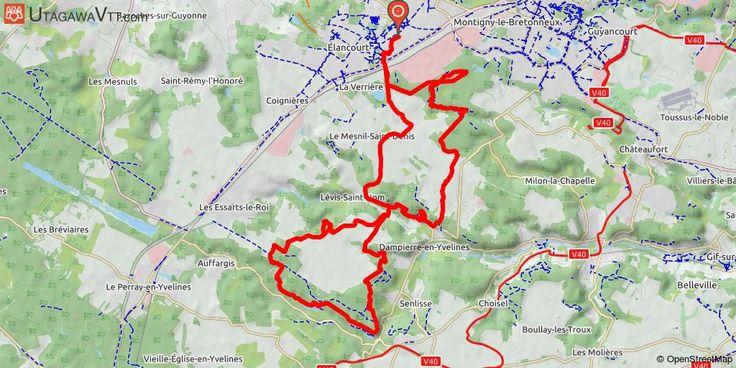[Yvelines] Elancourt - Vallée de Chevreuse Rando depuis Elancourt vers la Vallée de Chevreuse. Beaucoup de singles, de belles descentes techniques, de belles montées techniques également. Un vrai régal de pouvoir faire du vrai VTT en partant d'Elancourt !