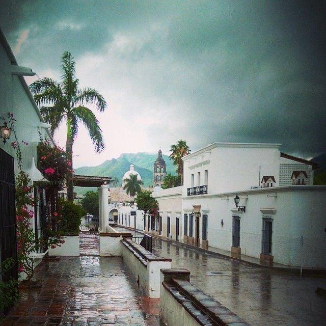 Alamos Sonora Mexico in the rain. J Swickard