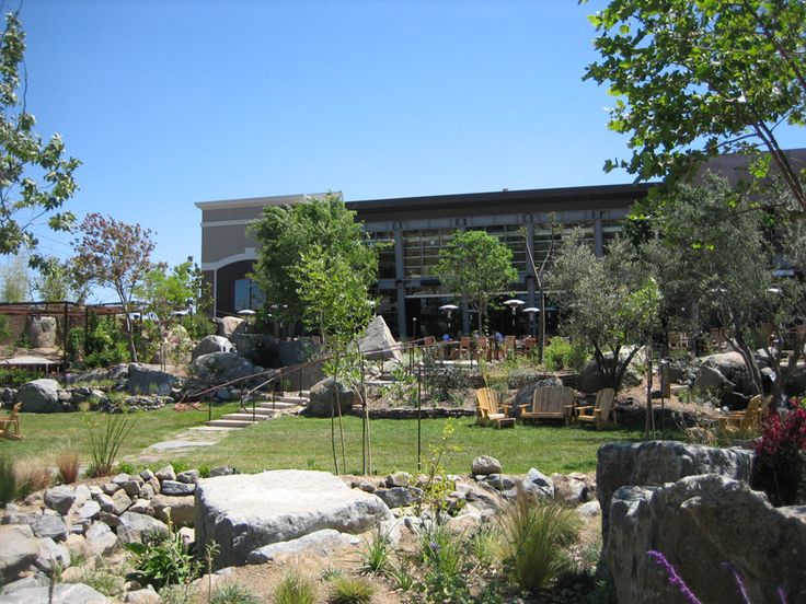 Stone Brewery - awesome beer, beautiful beer garden - a must see in Escondido, ca.