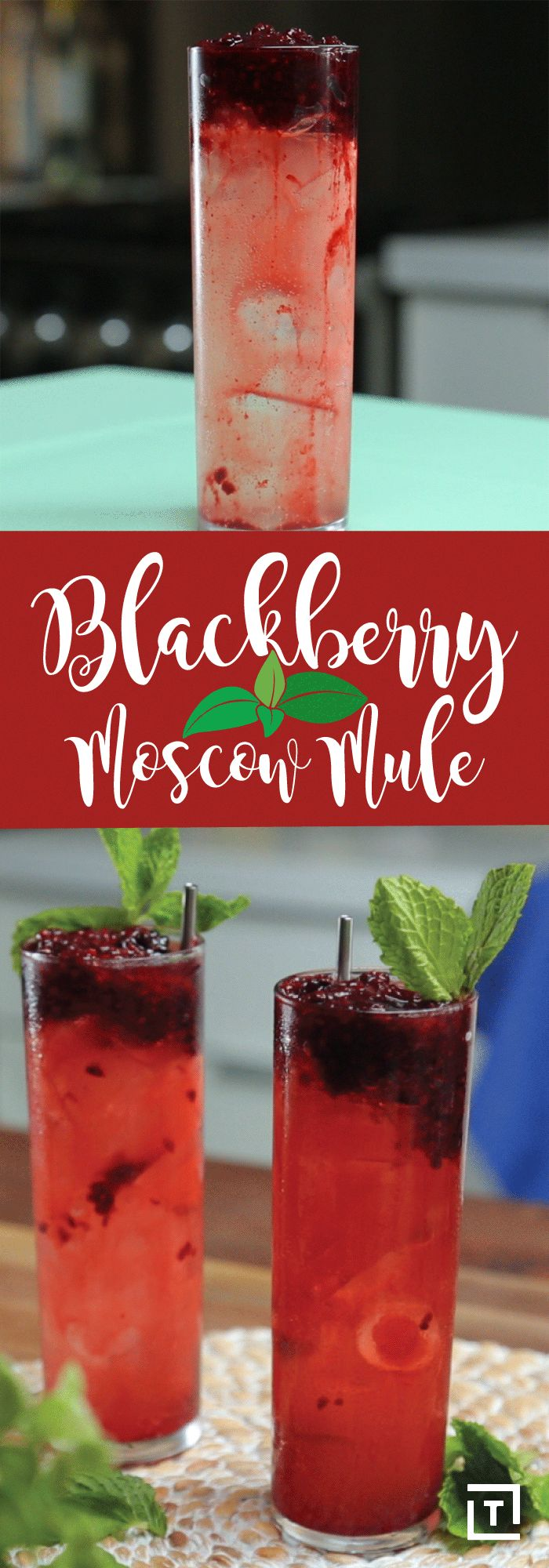 Serena Bakes Simply from Scratch inspired us to take a fruity Moscow mule and give it a fall twist. Made with blackberries, vodka, ginger beer, cinnamon, cloves, and star anise, this mule is the perfect cocktail to help you make the move from summer to fall.