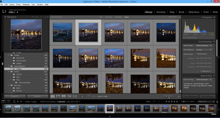A blog post on Lightroom and why it's such a good tool for photography and photo processing.
