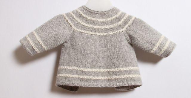 Ravelry: Little Jacket / Instructions in English pattern by Florence Merlin
