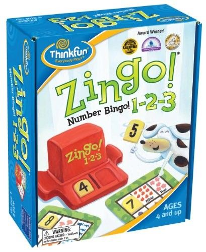 Thinkfun - Game Zingo 123 Numbers