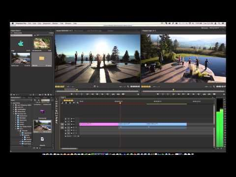 Learn Adobe Premiere Pro CC In Ten Minutes (Over The Shoulder Method) - YouTube