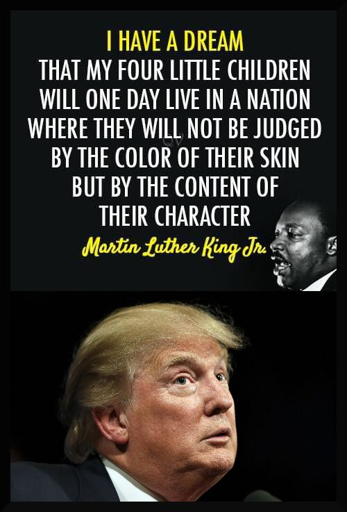 If he acts racist, sounds racist and tweets racist he surly must be republican.
