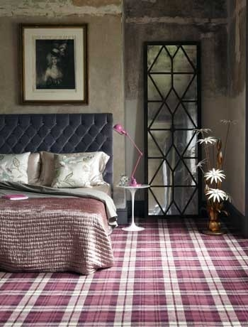 Fantastic use of tartan within the home. Nice to see an alternative to the traditional red pattern. http://www.delightfull.eu/