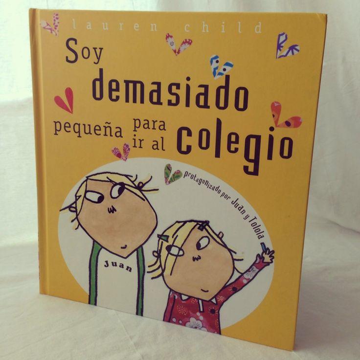 La Colina de Puck: #HoyLeemos: Soy Demasiado Pequeña para ir al Coleg...