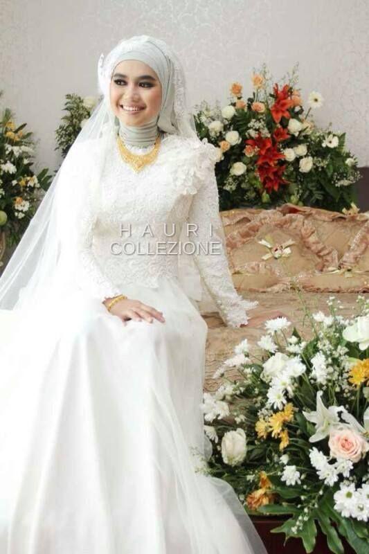 Hauri Collezione #indonesia #wedding #hijab #muslim #bride