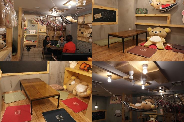 Capi Capi Loom Loom (Rilakkuma Cafe) @kittyho You still like Rilakkuma?