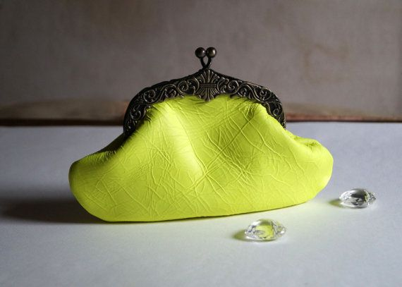 Women's bag small leather bag elegant bag clutch by Malikdesign