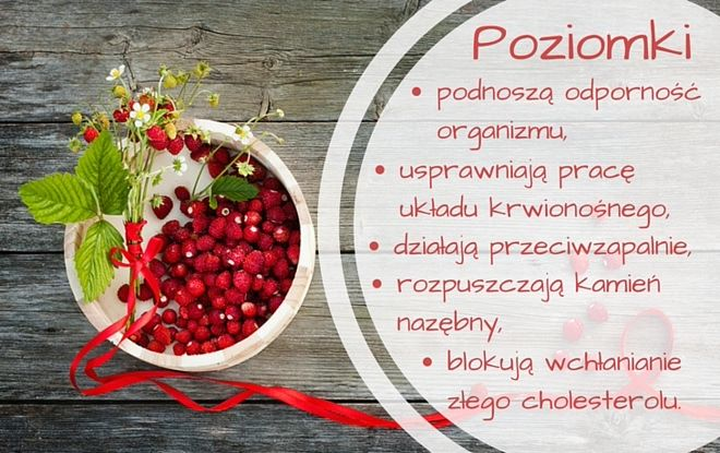 Co zawierają poziomki #poziomki #owoce #zdrowie #fruits #healthy #food