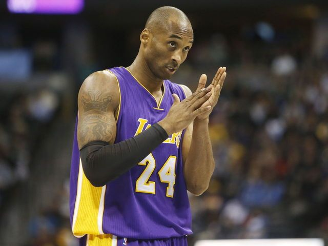 "Kobe Bryant records 21st career triple-double in win over Nuggets | theScore ""Last week, f***ked around and got a triple double...."" lol"