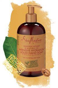 Miel de Manuka y Aceite de Mafura - Jabón líquido de hidratación intensiva para manos