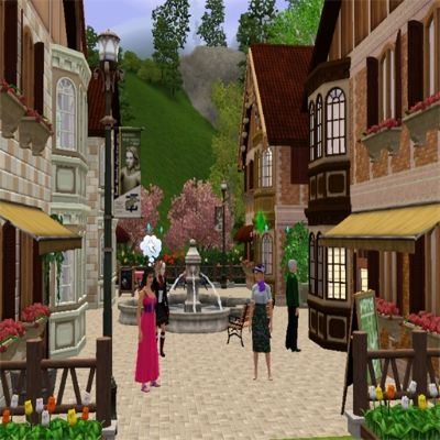 Olde Town Plaza & Bakery by CravenLestat - The Exchange - Community - The Sims 3