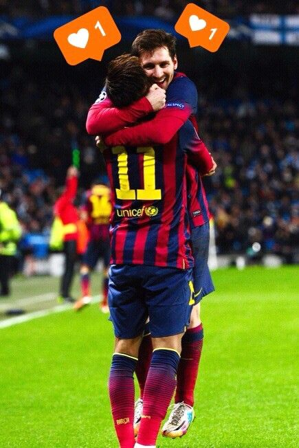 10-11 Messi Neymar
