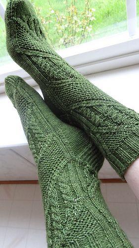Clue Socks by Verybusymonkey $4.50 Ravelry