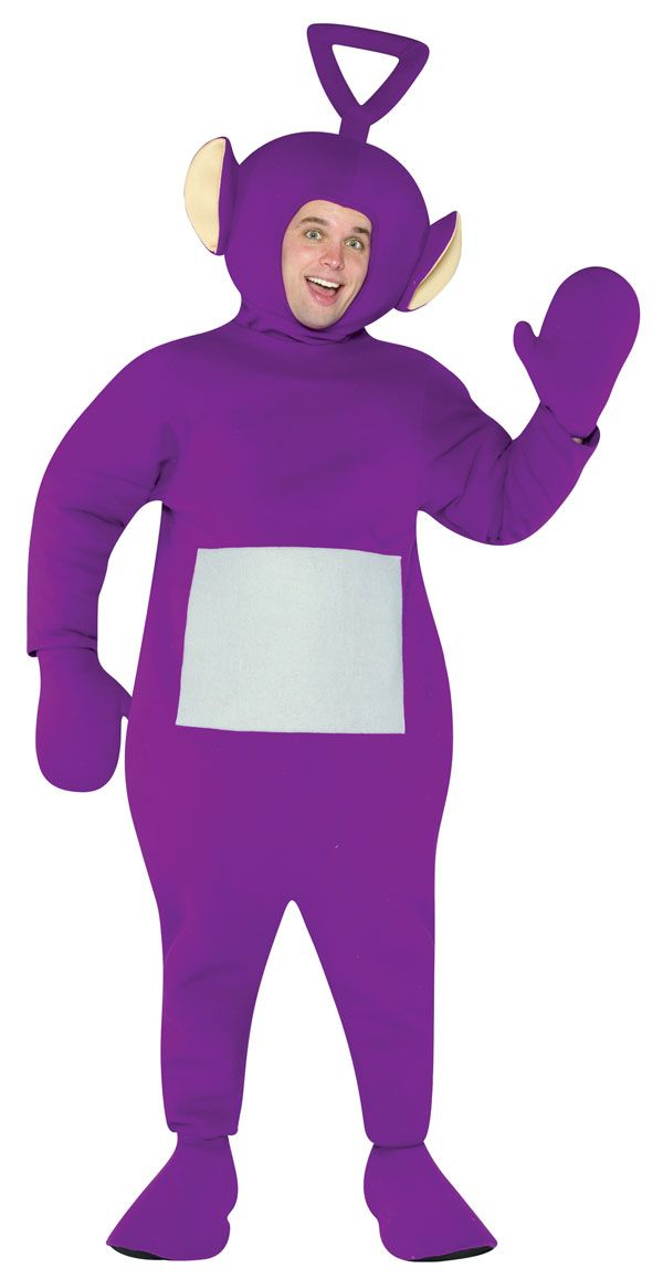 Adult Tinky Winky TeleTubbies Costume - TeleTubbies Costumes