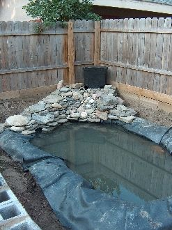 220 best images about pond and water garden diy ideas on for Make your own pond liner