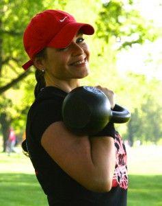 RKC 2 Kettlebelltrainerin Dorothee Appel