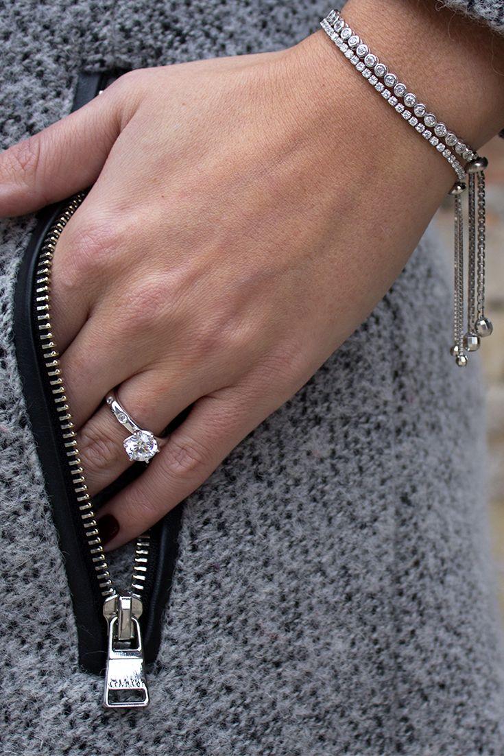 These Secure Bracelets Are Modern Twist To The Clic Tennis Bracelet Fashion In 2018 Diamond Bracele