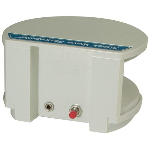 Produces Strong Sound Pressure In The Air, Attacking The Auditory & Nervous Systems Of Rodents Causing Them To Abandon Their Food Sources & Shelters Ultrasonic Sounds Continuously Penetrate Up To 5,000 Unobstructed Sq Ft Uses Automatic Wave Variation, Minimizing Chance That Pests Become Immune To Sound Inaudible & Harmless To Humans & Common Pets (do Not Use In Presence Of Gerbils, Hamsters, Guinea Pigs & Other Rodent Pets) Operates Totally Chemical & Battery Free