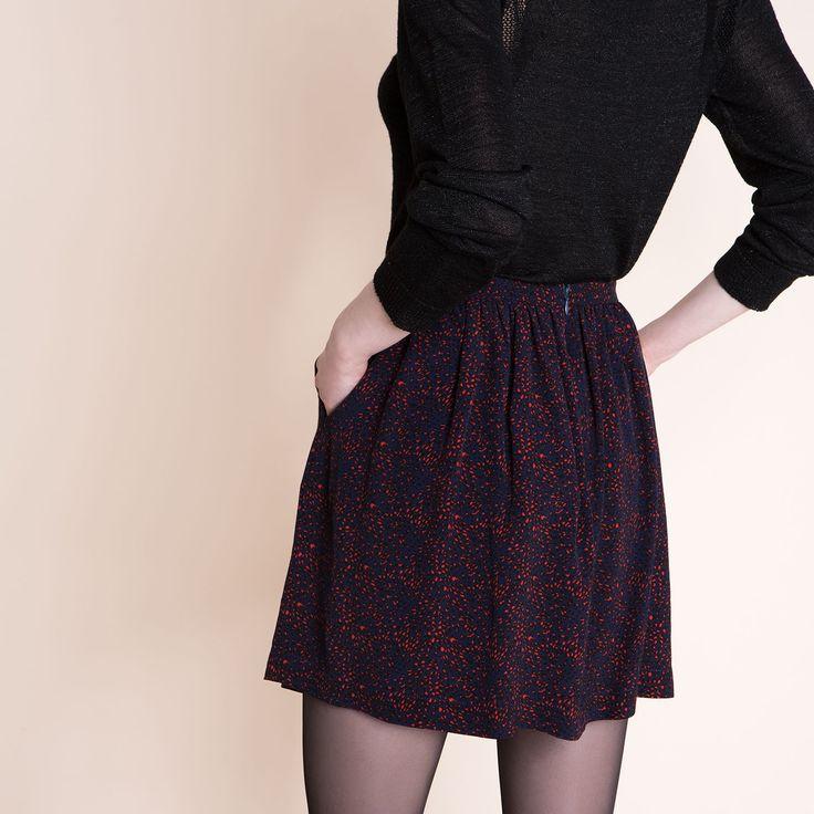 15 pingles jupe fluide incontournables tenues de jupes longues tenues pour l 39 glise et jupes. Black Bedroom Furniture Sets. Home Design Ideas