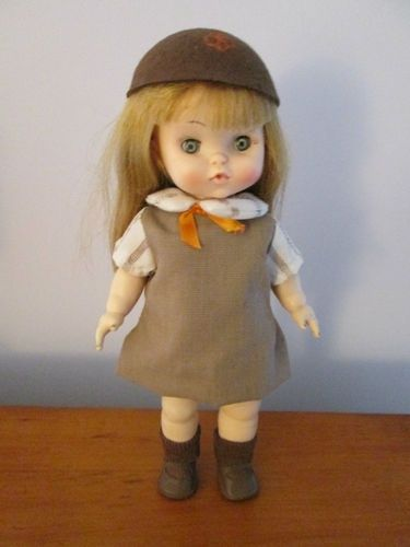 Vintage Girl Scout Doll Vintage Effanbee 1966 Girl Scout