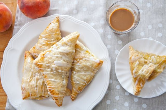 Recipe: Spiced Peach Turnovers | Kitchn