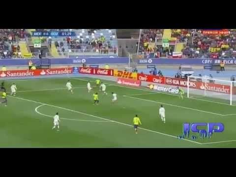 Мексика Эквадор 1:2 Кубок Америки 20 июня 2015