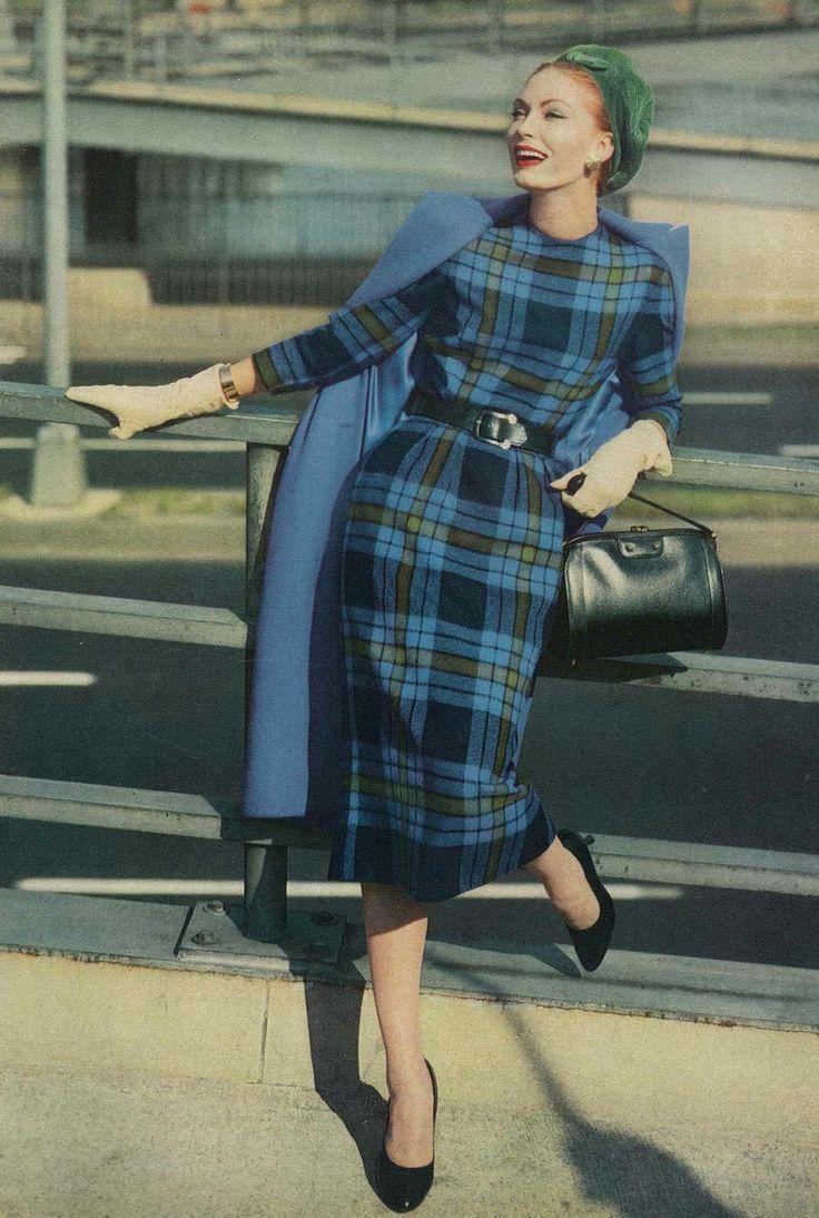 September Vogue 1957, photo by Frances McLaughlin-Gill