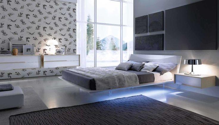 risultati immagini per parete camera letto led | camera da letto