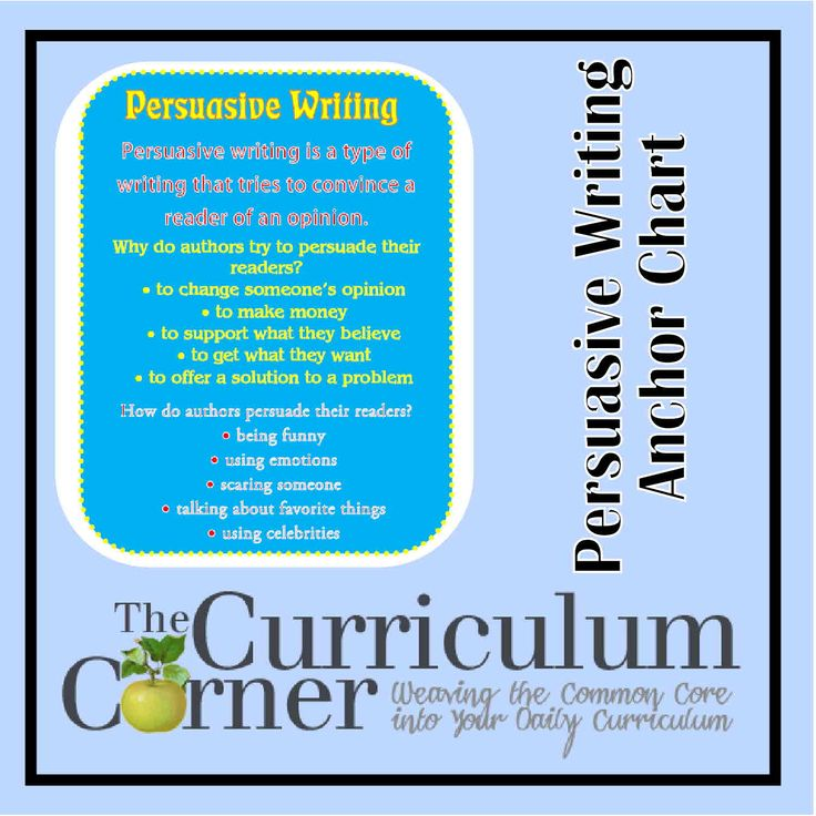persuasive essay mentor texts Mentor text for argumentative writing we looked at two persuasive essays as mentor texts as a class, we€ grade 3 argumentative strategies if.