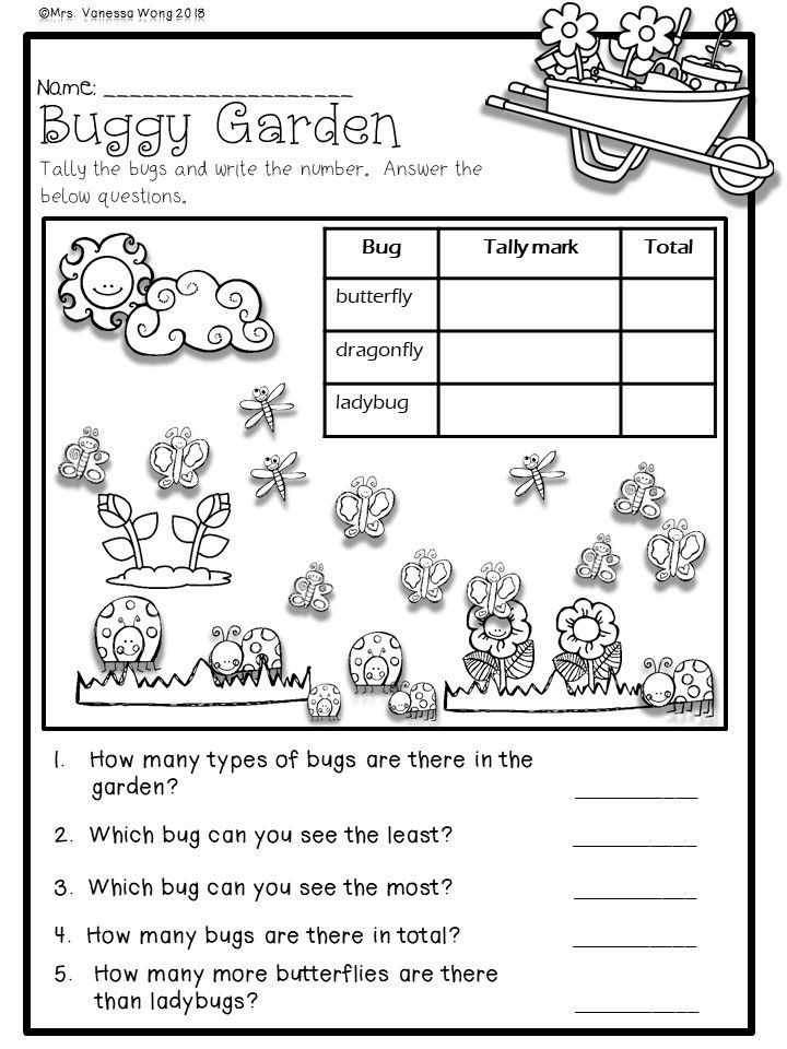 First Grade Math Worksheets And Literacy Worksheets Spring Activities –  Resep Kuini