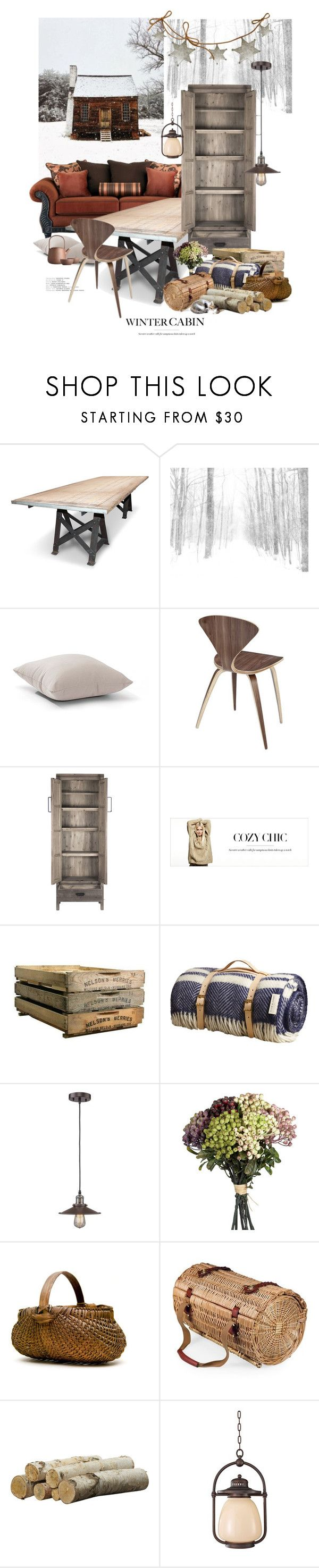 """""""A Winter Just Like Heaven"""" by halfmoonrun ❤ liked on Polyvore featuring interior, interiors, interior design, home, home decor, interior decorating, Zuo, Modway, Zentique and Plum & Ashby"""
