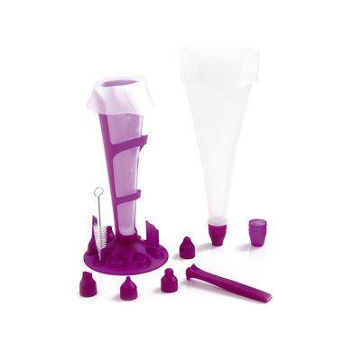 Rękaw cukierniczy silikonowy Mastrad 12x fioletowy