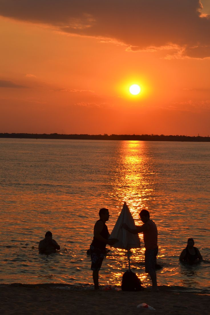 Corrientes #Litoral #Atardecer #Playa #Relax