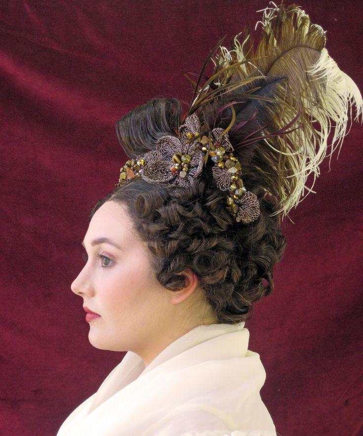 1830's biedermeier hairstyles
