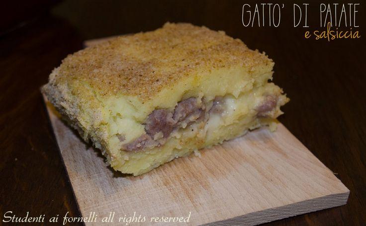 gatto' di patate e salsiccia con-mozzarella ricetta-torta-di-patate