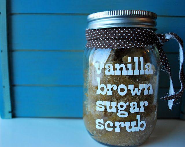 Handmade Christmas Presents: Sugar Scrubs
