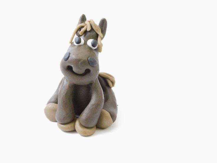 Jak ulepić konia z modeliny ?  How to do with modeling clay horse