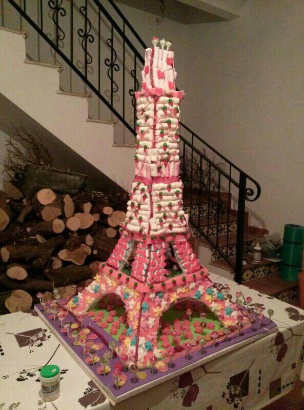 Torre Eiffel de chuches