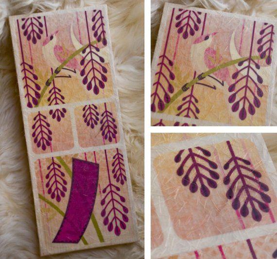 HwaTu / Hanafuda Card Design  April / Wisteria / by alterna180