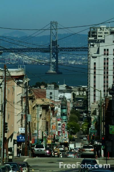 Streets of San Francisco, California pictures, free use image ...