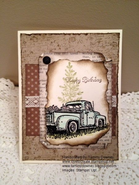 Stampin' Up! countryside                                                                                                                                                                                 More