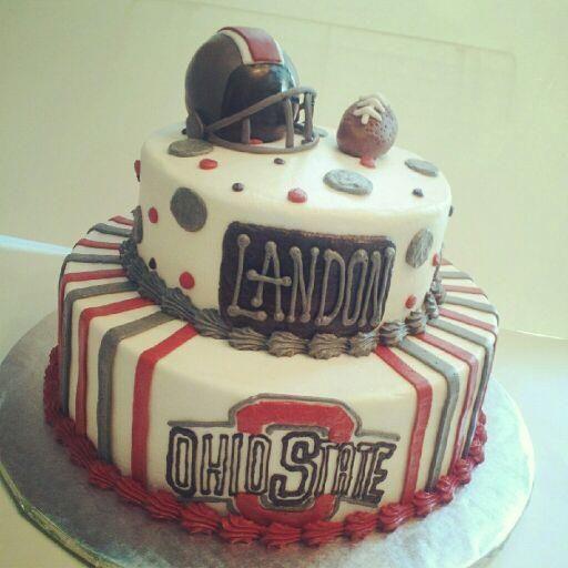 Ohio State Baby Shower Cake :)