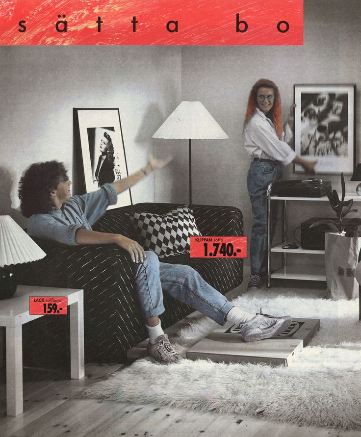 ikea klippan sofa 1989 ik a pinterest. Black Bedroom Furniture Sets. Home Design Ideas