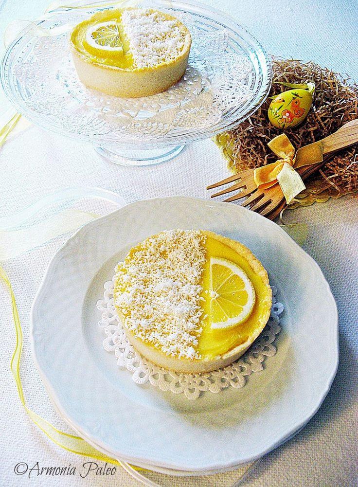 Tartellette alla Crema di Anacardi e Lemon Curd