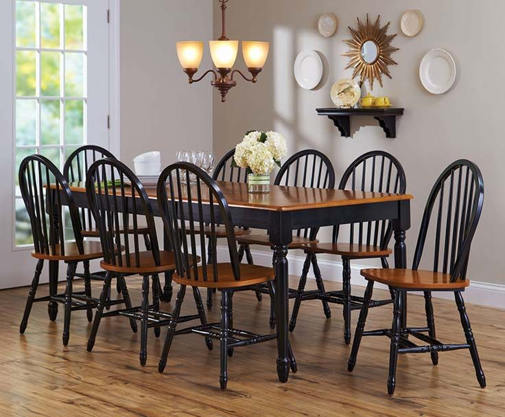 Better Homes And Gardens Autumn Lane 9 Piece Dining Set