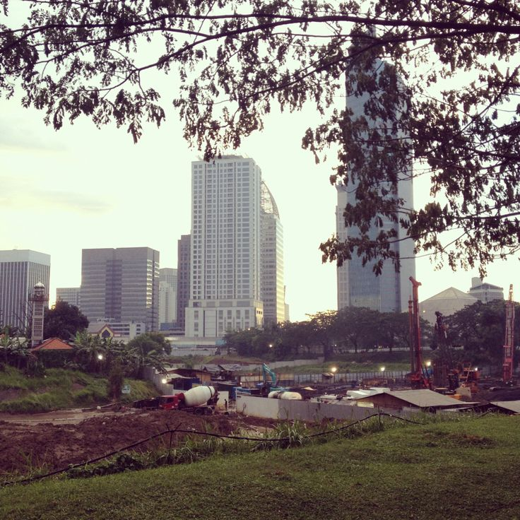 How many trees need to be cut down to build another skyscraper?  #jakarta